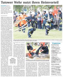 10.06.2009 - Nordkurier Seite 15