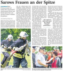29.06.2009 - Nordkurier Seite 12