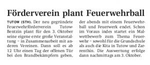 10.09.2009 - Nordkurier Seite 17