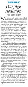 17.11.2009 - Nordkurier Seite 13 Angemerkt