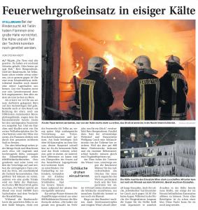 19.12.2009 Nordkurier – Demminer Zeitung Seite 17