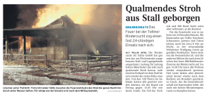 22.12.2009 Nordkurier – Demminer Zeitung Seite 13
