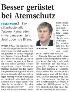 15.02.2010 Nordkurier – Demminer Zeitung Seite 11