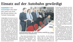 16.02.2010 Nordkurier – Demminer Zeitung Seite 15