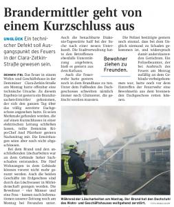 02.06.2010 Nordkurier – Demminer Zeitung Seite 13