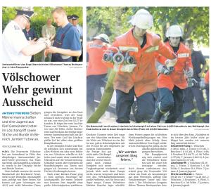 07.06.2010 Nordkurier – Demminer Zeitung Seite 10