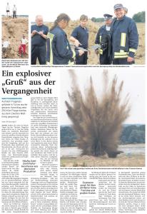 23.07.2010 Nordkurier – Demminer Zeitung Seite 14