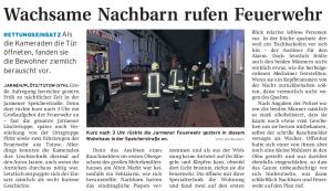 13.09.2010 Nordkurier – Demminer Zeitung Seite 9