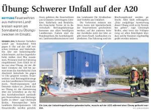 04.10.2010 Nordkurier – Demminer Zeitung Seite 9