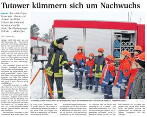 08.12.2010 Nordkurier – Demminer Zeitung Seite 16
