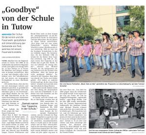 23.05.2011 Nordkurier – Demminer Zeitung Seite 11