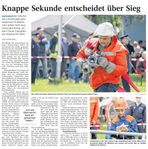 31.05.2011 Nordkurier – Demminer Zeitung Seite 14