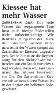 04.08.2011 Nordkurier - Demminer Zeitung Seite 15