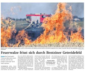 05.10.2011 Nordkurier – Demminer Zeitung Seite 14