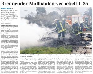 11.10.2011 Nordkurier – Demminer Zeitung Seite 15