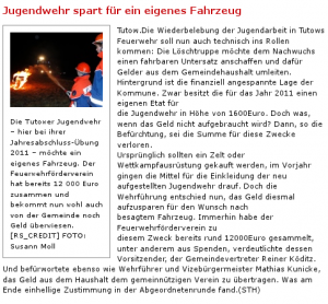 Nordkurier - Online 27.12.2011
