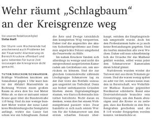 28.02.2012 Nordkurier – VorpommernKurier Seite 21