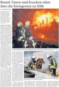 30.09.2013 Nordkurier – VorpommernKurier Seite 17